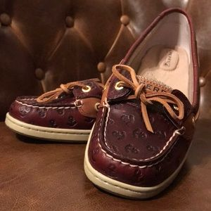 Sperry Angelfish Cordovan Anchor boat shoe (7.5)
